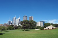 Sidnėjus iš Royal Botanic Gardens