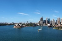 Sidnėjus nuo Harbour Bridge