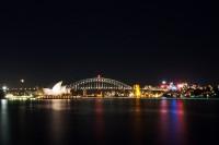 Sidnėjus naktį