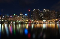 Naktinis Darling Harbour